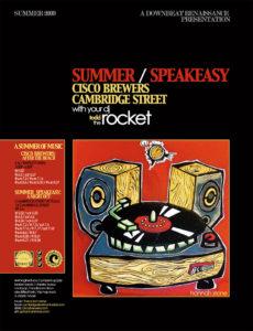 Summer Speakeasy Poster